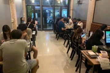 เซ้ง!! ร้านอาหาร ใกล้มหาวิทยาลัย ตกแต่งสวย @ถนนจันทรคามพิทักษ์ จ.นครปฐม