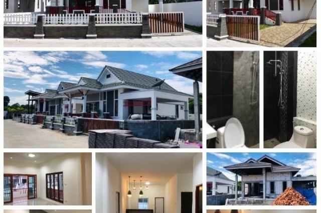 ขายด่วน บ้านเดี่ยวชั้นดียว  ตาขัน บ้านเดี่ยวมือหนึ่ง โครงการ มารวยแลนด์ ตาขัน บ้านค่าย ระยอง