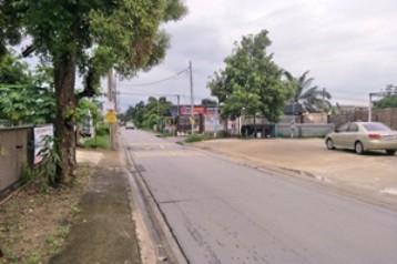 ให้เช่าที่ดินเปล่าถมแล้วพื้นเทคอนกรีตในถนนนวลจันทร์ กรุงเทพมหานคร