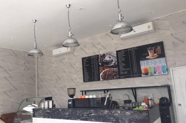 เซ้ง!! ร้านกาแฟ ในปั้มเอสโซ่ เปิดใหม่ @บางบัวทอง-ราชพฤกษ์