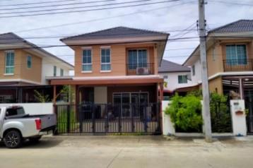 ขาย บ้านแฝด โครงการ1 ทำเลค้าขาย บ้านพฤกษา เทพารักษ์-เมืองใหม่ 133 ตรม. 36 ตร.วา ราคาถูกพื้นที่เยอะ