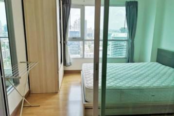 ให้เช่า - ขาย คอนโด 1 Bed ใกล้ BTS เอกมัย Aspire พระราม 4 28 ตรม. ชั้น 30 วิิวสวย City View แต่งสวยพร้อมอยู่