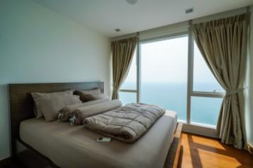 เดอะ ปาล์ม วงศ์อมาตย์ บีช พัทยา คอนโด 1 ห้องนอน facilities ครบ วิวทะเล