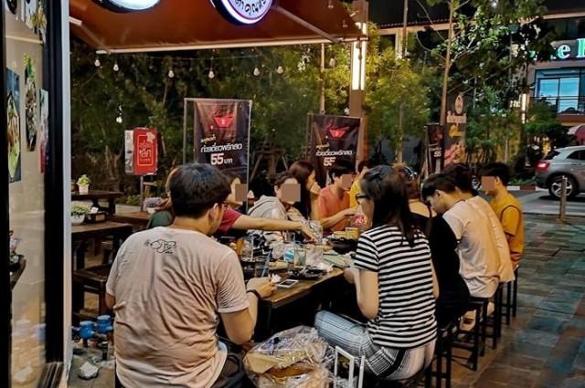 เซ้ง!! ร้านส้มตำ อาหารอีสาน @โครงการสวนหลวงสแควร์ จุฬาลงกรณ์ ซอย 12