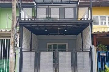 ขาย ทาวน์โฮม ทาวน์เฮ้าส์ 2 ชั้น ตกแต่งรีโนเวทใหม่ หงส์ประยูร1 80 ตรม. 17 ตร.วา ถนนบางกรวย-ไทรน้อย บางบัวทอง นนทบุรี
