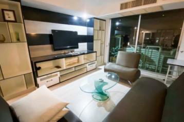 ให้เช่า :: 2 ห้องนอน แต่งดี คุ้มค่า ราคาประหยัด ขนาด 92  ตรม. เฟอร์แน่น เน้นวิวเมือง - ศุภาลัย ปาร์ค พหลโยธิน 21