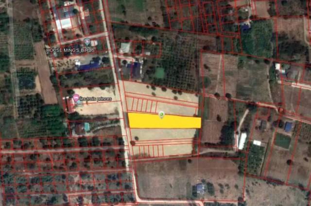 ที่ดินขายถูกมาก2ไร่ (ทำเลทอง) แยกหนองขอนใกล้ตัวเมืองหัวหิน ขายด่วน
