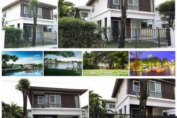 ให้เช่า บ้านเดี่ยว ซอยเอแบค บางนา กม.26 (ถูกกกที่สุด!!!! ในโครงการ) (เฟอร์ทั้งหลัง!!!)