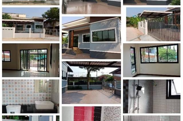 ขายบ้านเดี่ยว 3 ห้องนอน 2 ห้องน้ำ เนื้อที่ 65 ตารางวา ใกล้ห้างโลตัสท่าทอง  เมือง พิษณุโลก