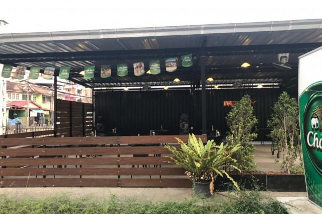 เซ้ง‼️ ร้านเหล้า นั่งชิว พร้อมอุปกรณ์ @ใกล้ ม.เกษตร ศรีราชา อ่าวอุดม ประตู 3