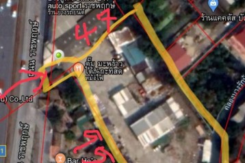 ขายที่ดินติดถนนราชพฤกษ์ 3 ไร่ 89.4 ตารางวา