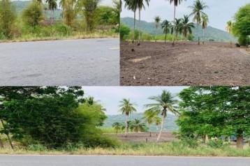 (ขายที่ดิน แก่งคอย) สระบุรี 30 ไร่ เศษ หน้ากว้าง 45 เมตร ติดถนนใหญ่  ด้านหลังใกล้เชิงเขา  ใกล้คลองส่งน้ำ ใกล้สถานที่ท่องเที่ยวและรีสอร์ทหลายแห่ง