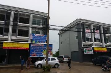 ขายอาคารพาณิชย์ใหม่ 3.5 ชั้น 4 นอน 18 ตร.วา ใกล้ตลาดดอนหวาย สามพราน นครปฐม