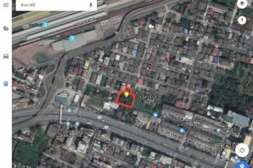 ขายที่ดิน 350 ตารางวา สิรินธร ซอย2 ใกล้ห้างตั้งฮั้วเส็งธนบุรี และใกล้รถไฟสายสีแดงอ่อน