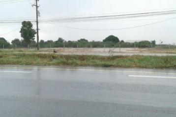 ขาย ที่ดิน ติดถนนสองฝั่ง พนัสนิคม ชลบุรี 40 ไร่ 2 งาน 53 ตร.วา ห่างนิคมเกตุเวย์ 7 กม.