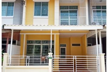 ขาย ทาวน์เฮ้าส์ เลียบคลองสอง บ้านรื่นฤดี 6 รามอินทรา-ซาฟารี 2 ชั้น 21.7 ตรว แต่งใหม่ สวยมาก