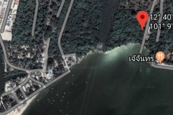 ขายที่ดิน 6ไร่ 2งาน 8ตารางวา จ. ระยอง หน้าติดทะเล ห่างจากถ. สุขุมวิท 1กม.
