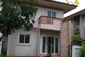 บ้านเดี่ยวให้เช่า ใกล้ศูนย์ราชการธัญบุรี รังสิตคลอง  6.  ม.พรพิมาน วิลล์  T.062-1574449