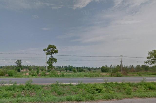 ต้องการขายที่ดิน ขนาด 7ไร่2งานติดถนนมิตรภาพ บ้านคำบง น้ำพอง ห่างขอนแก่น40กิโล