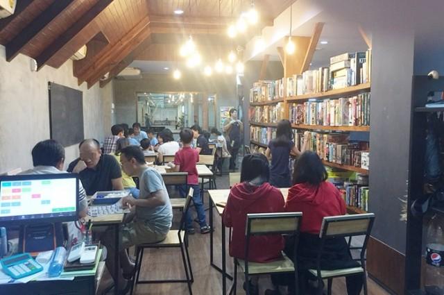 เซ้ง!! ร้าน Board Game Cafe & Co-working space @ย่านสนามบินน้ำ (สามแยกสนามบินน้ำ) นนทบุรี