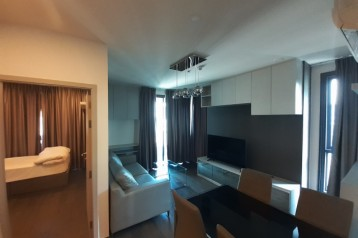 Ideo Q Siam-Rajtaewee 2 bed 2 bath  Corner room, quiet, private, ready to move in